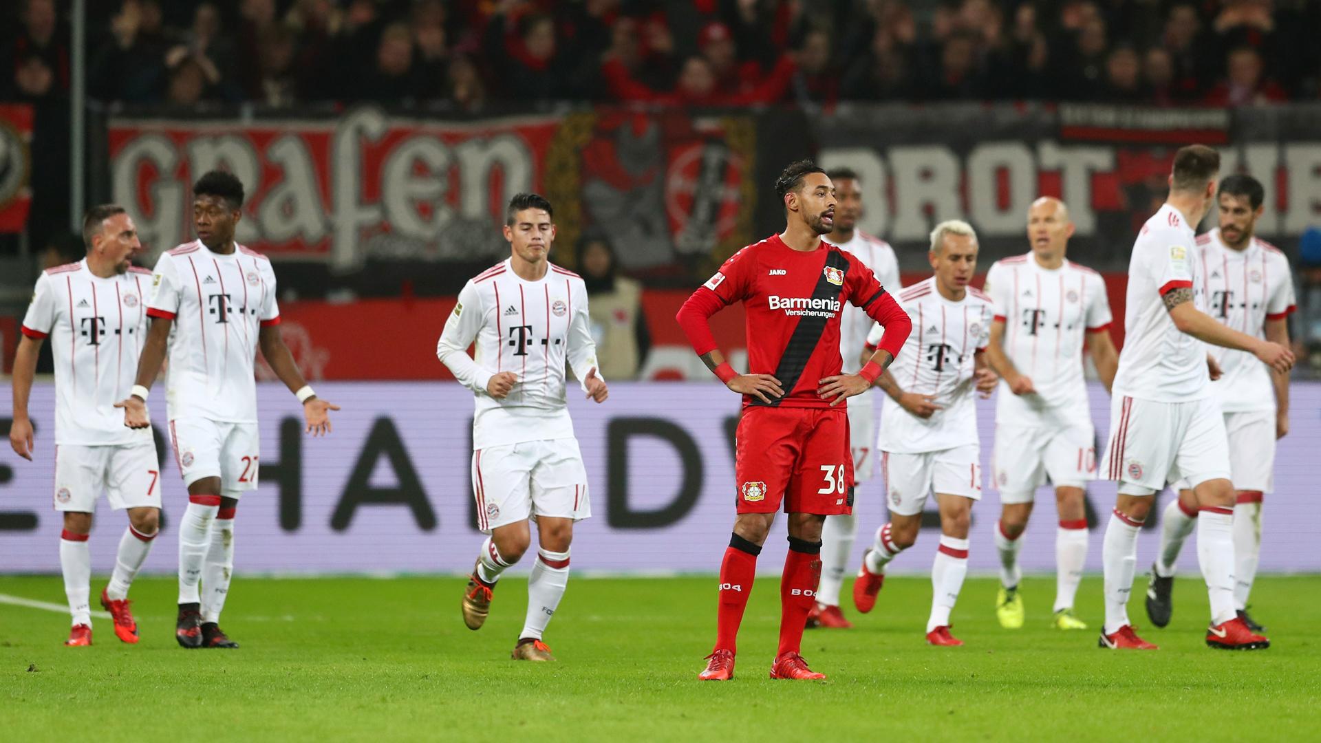 Bayer Leverkusen FC Bayern München