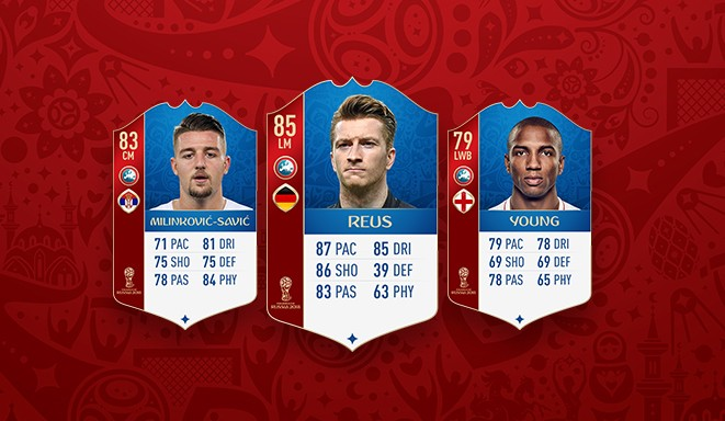 FIFA 18 World Cup mode players added