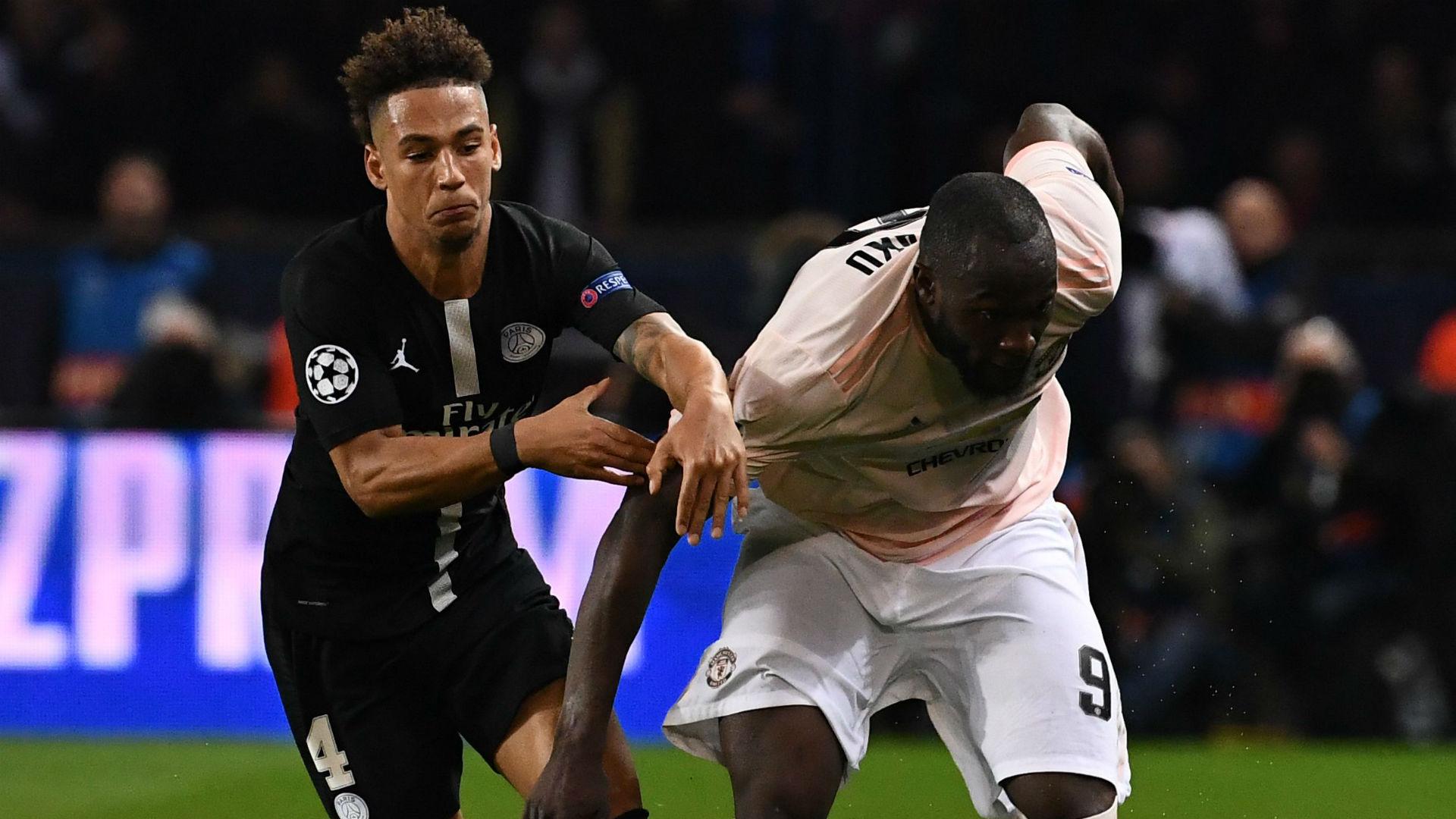 Thilo Kehrer Romelu Lukaku PSG Manchester United UEFA Champions League 06032019