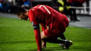 Cristiano Ronaldo, Portugal injury