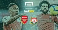 Arsenal Liverpool Bet 365
