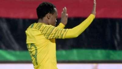 Percy Tau, Bafana Bafana, March 2019