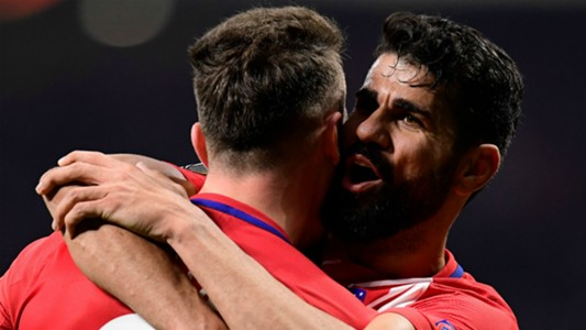 Diego Costa Saul Atletico Madrid Lokomotiv Europa League