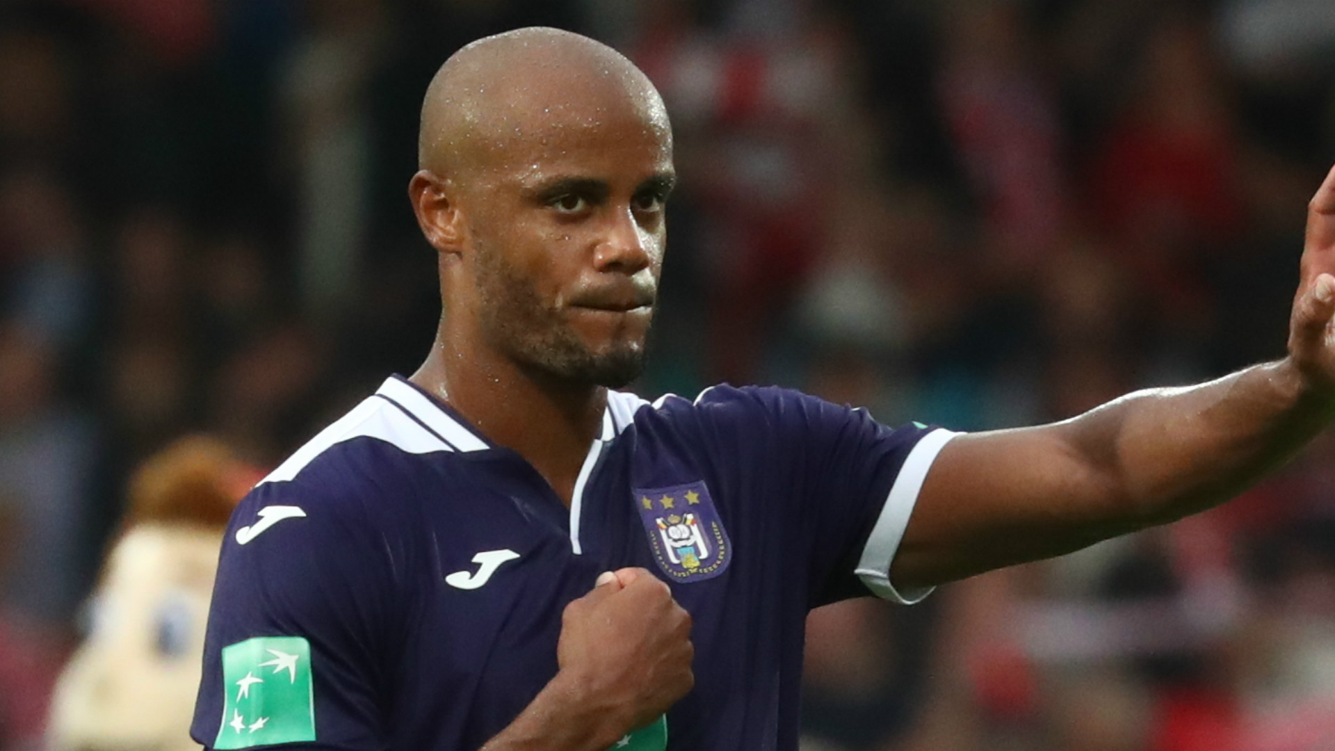Vincent Kompany: Anderlecht boss gives up managerial duties on match days