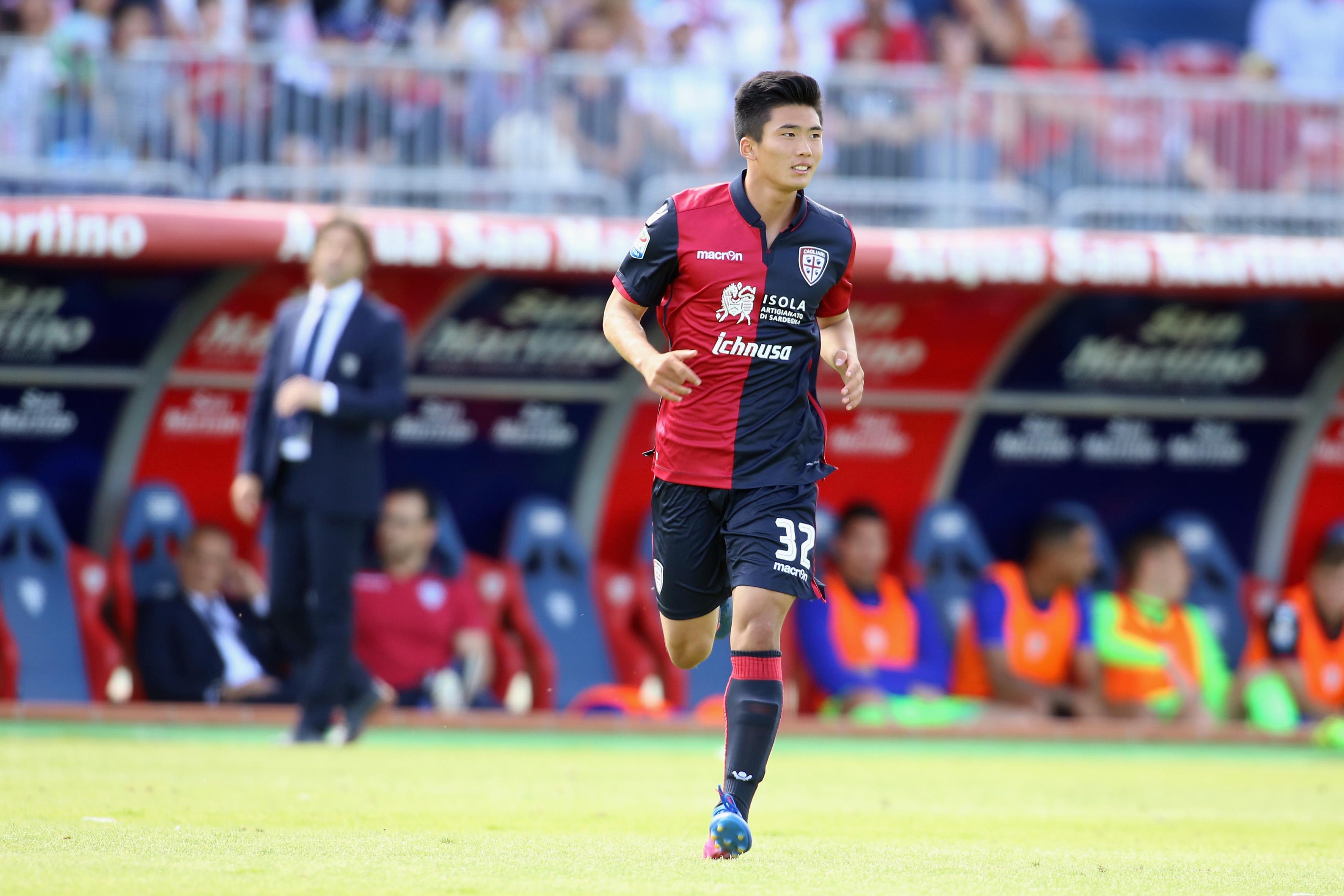 Han Kwang-Song Cagliari