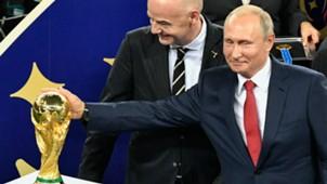 Vladimir Putin WC Final 2018