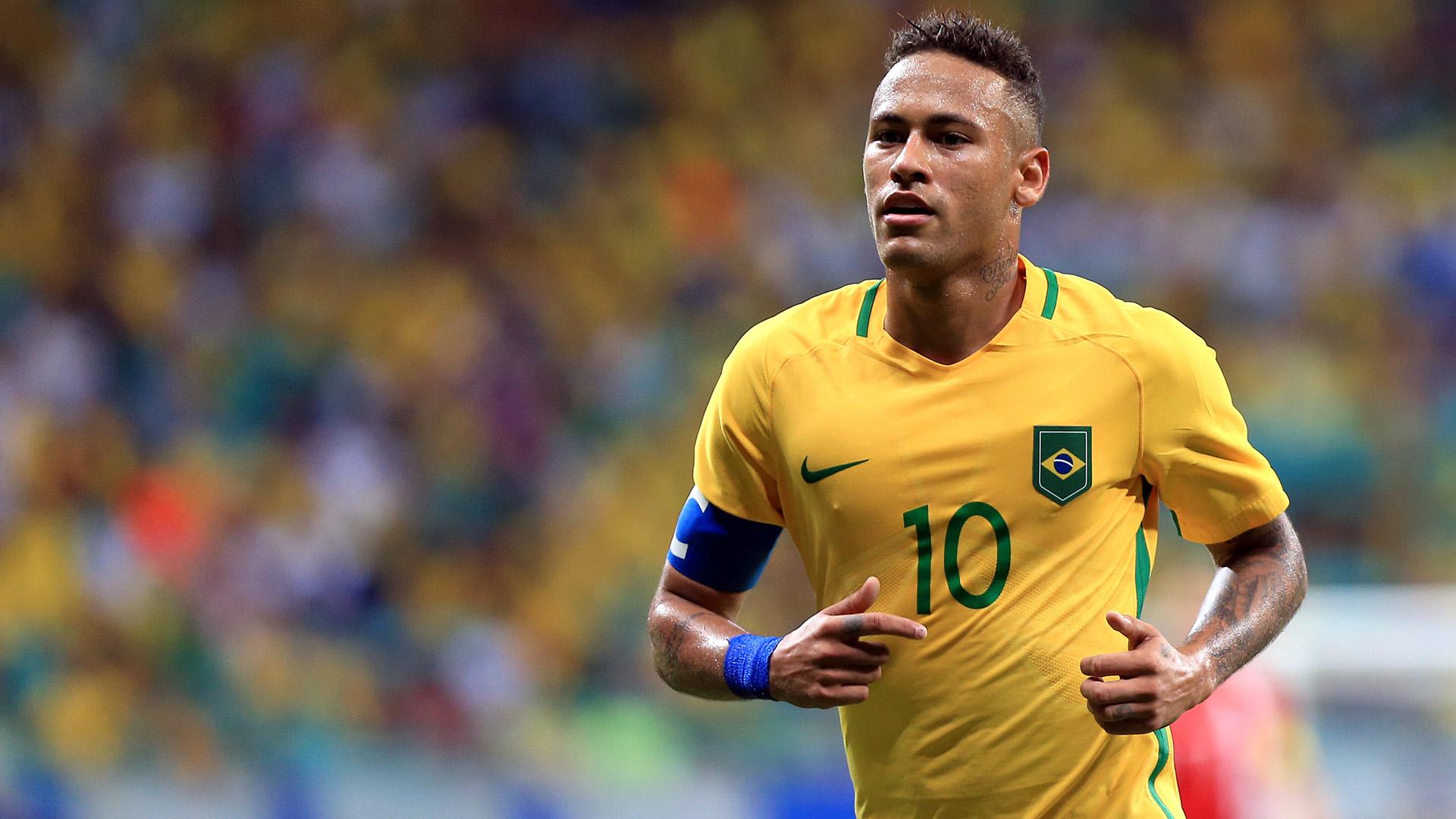 Neymar Brasilien 09082016