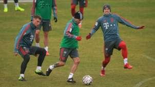 James Rodríguez entrenamiento Bayern Munich