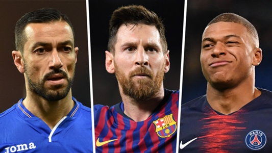 0a4b39c6042 Golden Shoe 2018-19: Lionel Messi, Kylian Mbappe, Cristiano Ronaldo &  Europe's top scorers | Goal.com
