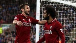 Adam Lallana, Mohamed Salah, Liverpool