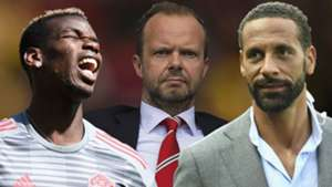 Paul Pogba Ed Woodward Rio Ferdinand Man Utd