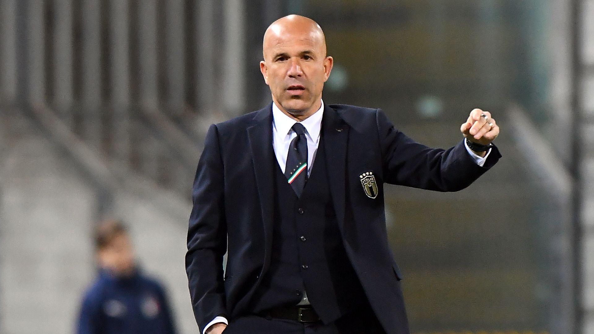 Luigi Di Biagio Italy U21 Austria U21 friendly match