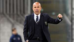 Luigi Di Biagio Italy U21 Austria U21 friendly match
