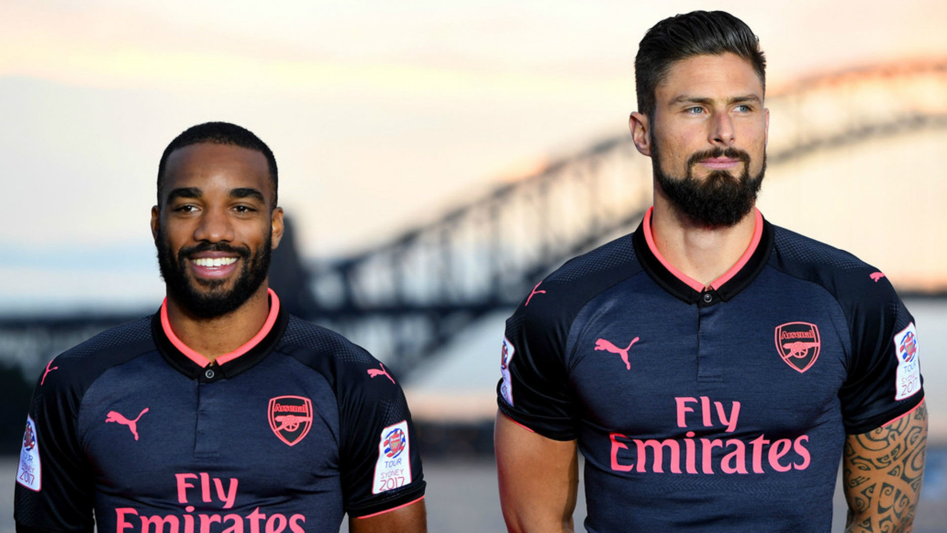 Arsenal News  Gunners unveil new black and pink third kit  66e7a9304