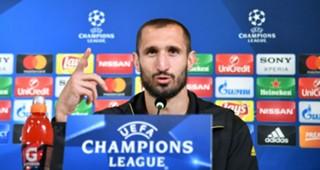 Giorgio Chiellini Juventus Champions League
