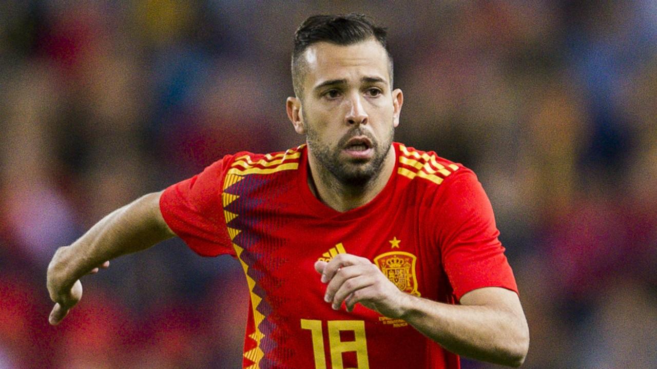 Spain squad: Barcelona defender Jordi Alba returns to Spain squad as Luis Enrique bows to pressure
