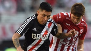 Enzo Perez River Plate Union Santa Fe Superliga 22112017