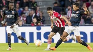 Hirving Lozano, Atakan Akkaynak, PSV - Willem II, Eredivisie 09012018