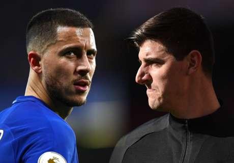 Transfer latest: Courtois & Hazard lead €300m Madrid wishlist