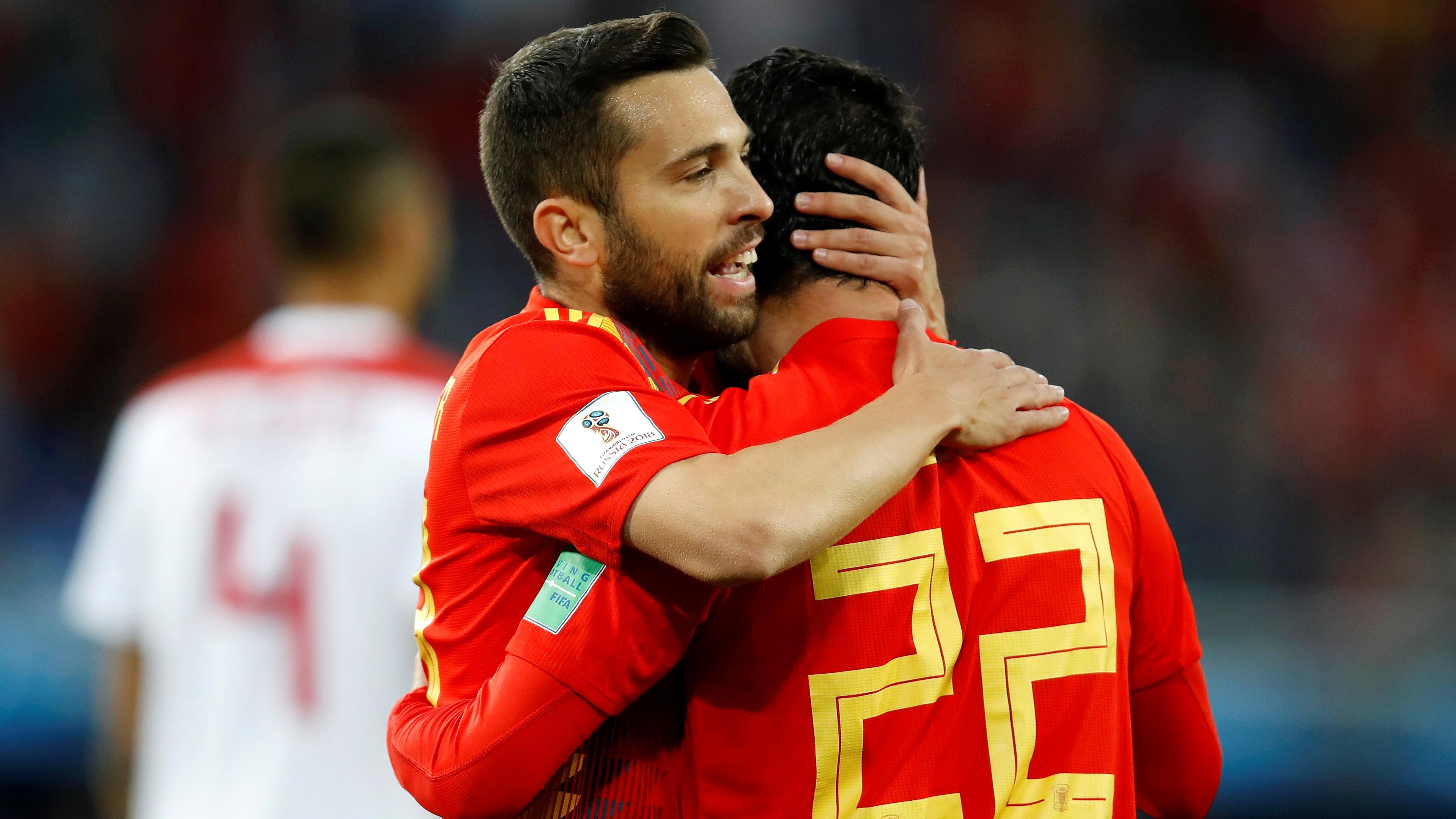 Isco Alarcon Jordi Alba Spain Morocco España Marruecos 25062018