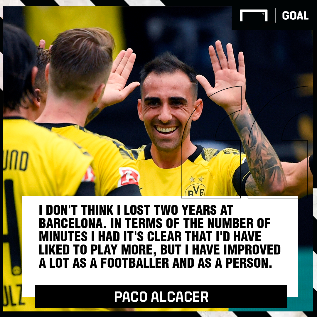 Paco Alcacer quote PS