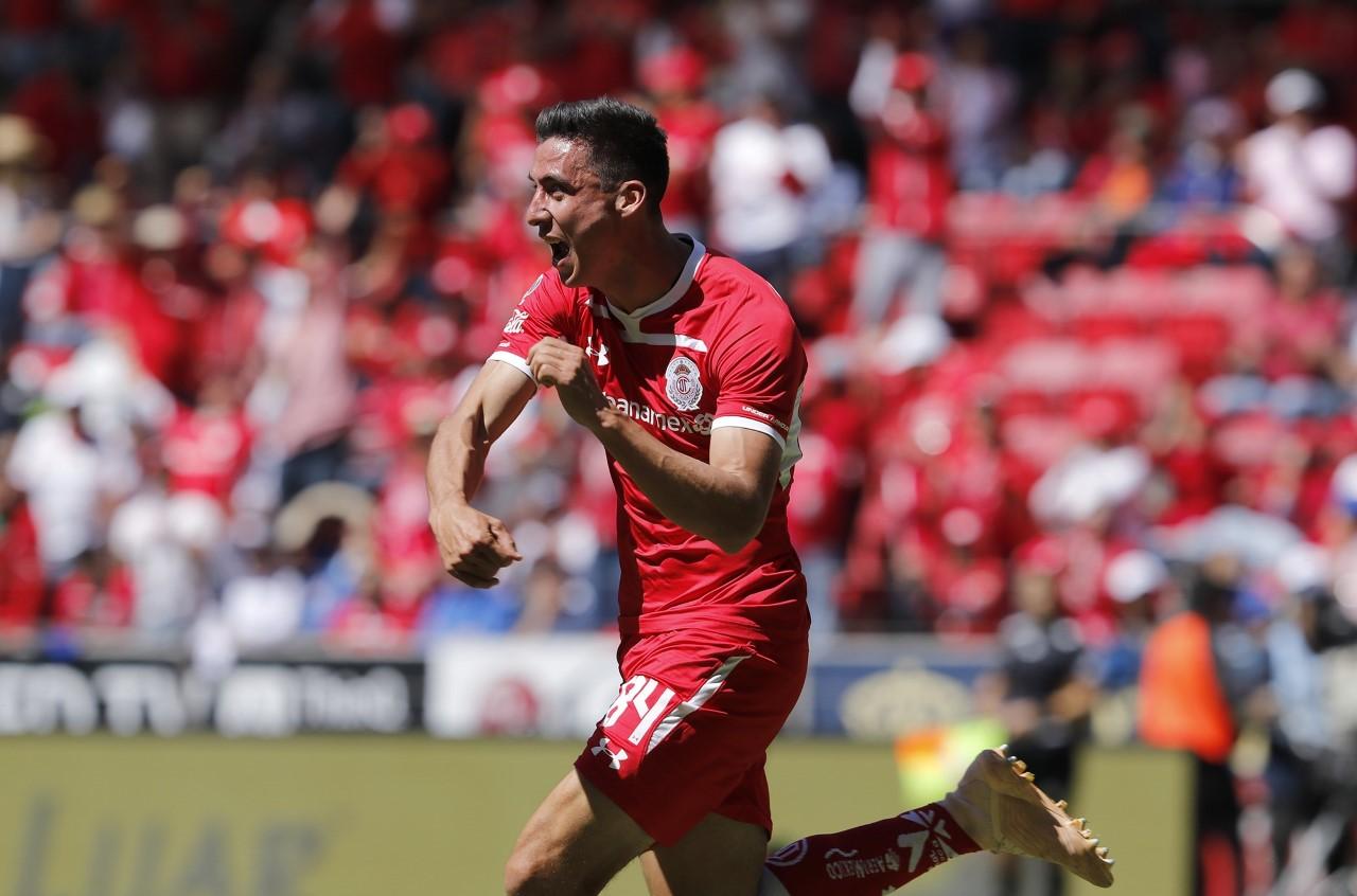 Adrián Mora Toluca Clausura 2019