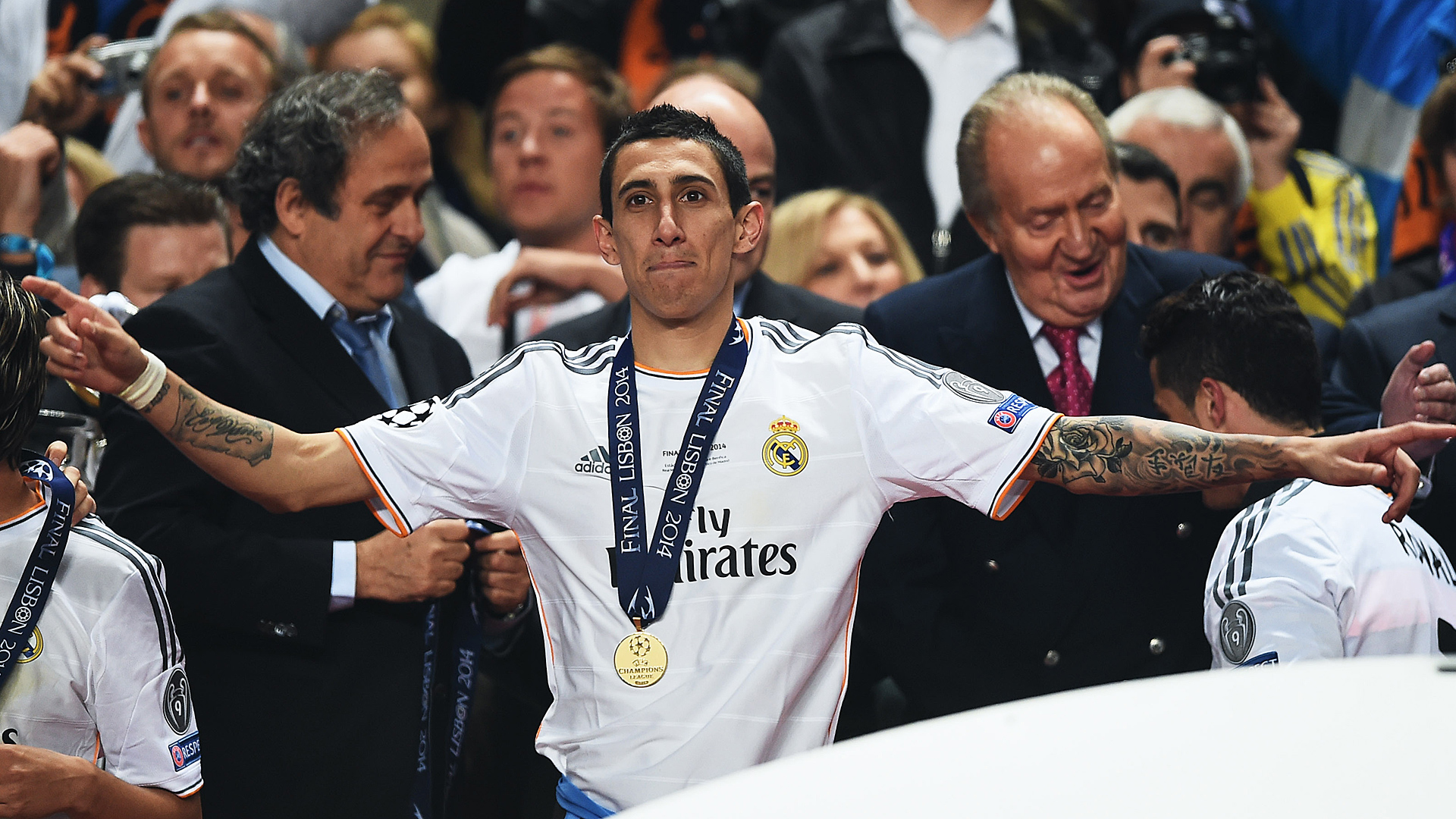 Angel Di Maria Real Madrid Champions League