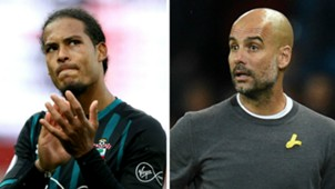 Virgil van Dijk Pep Guardiola