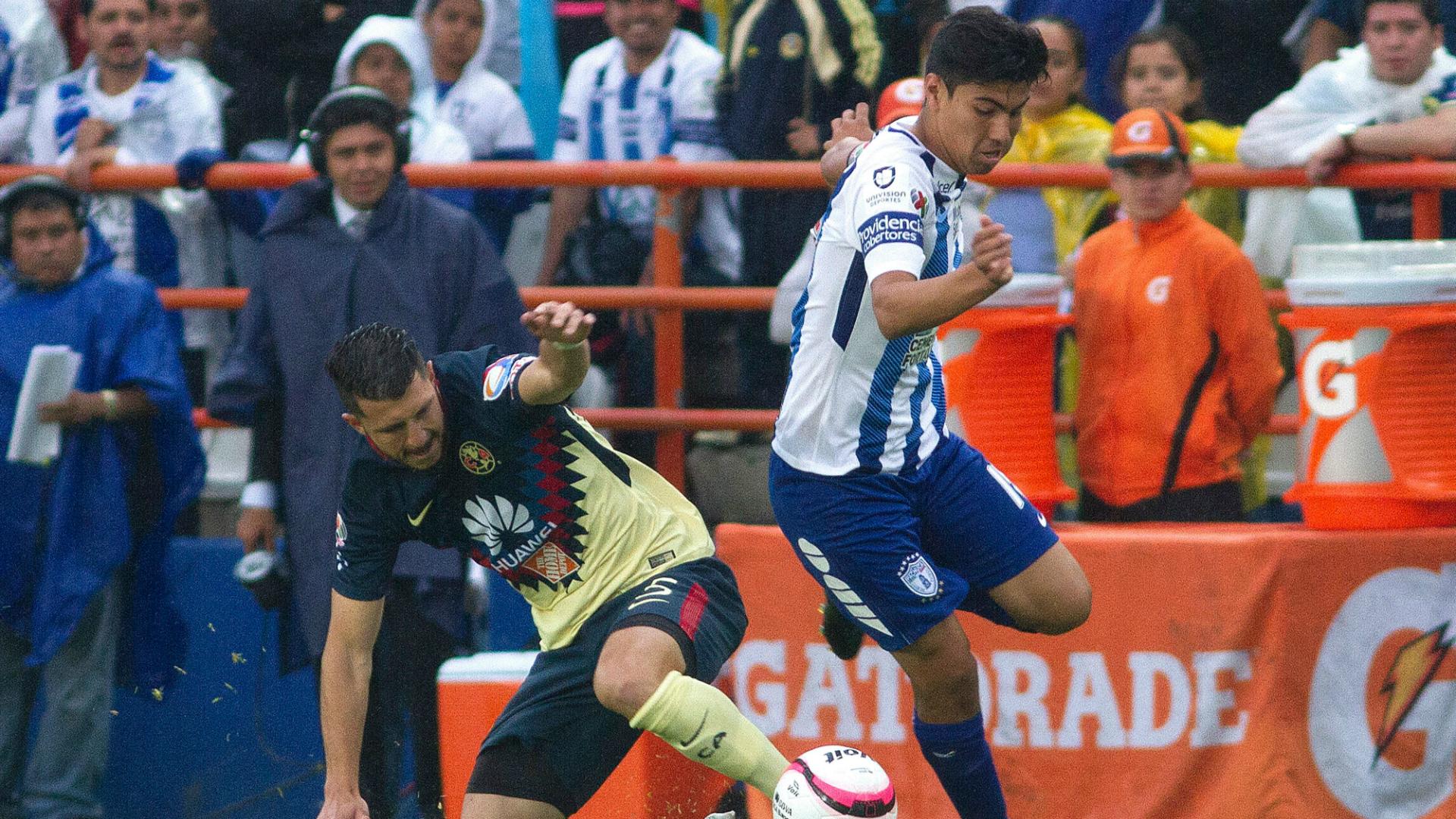 Angelo Sagal vio acción en amistoso entre Pachuca y Celta de Vigo