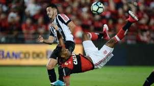 Orlando Berrio Lucas Verissimo Flamengo Santos Copa do Brasil 28062017