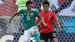 Jang Hyun-soo South Korea Mesut Ozil Germany World Cup