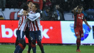 Alan Pulido Toronto FC Chivas CONCACAF Champions League