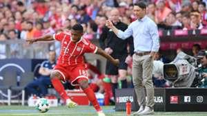 Franck Evina Niko Kovac Bayern Munchen Eintracht Frankfurt Bundesliga 28042018