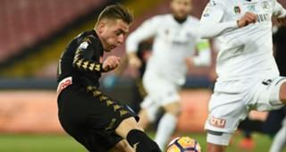 Emanuele Giaccherini Napoli Spezia Coppa Italia