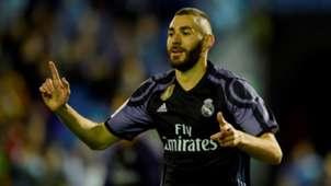 Karim Benzema Real Madrid Celta LaLiga 17052017