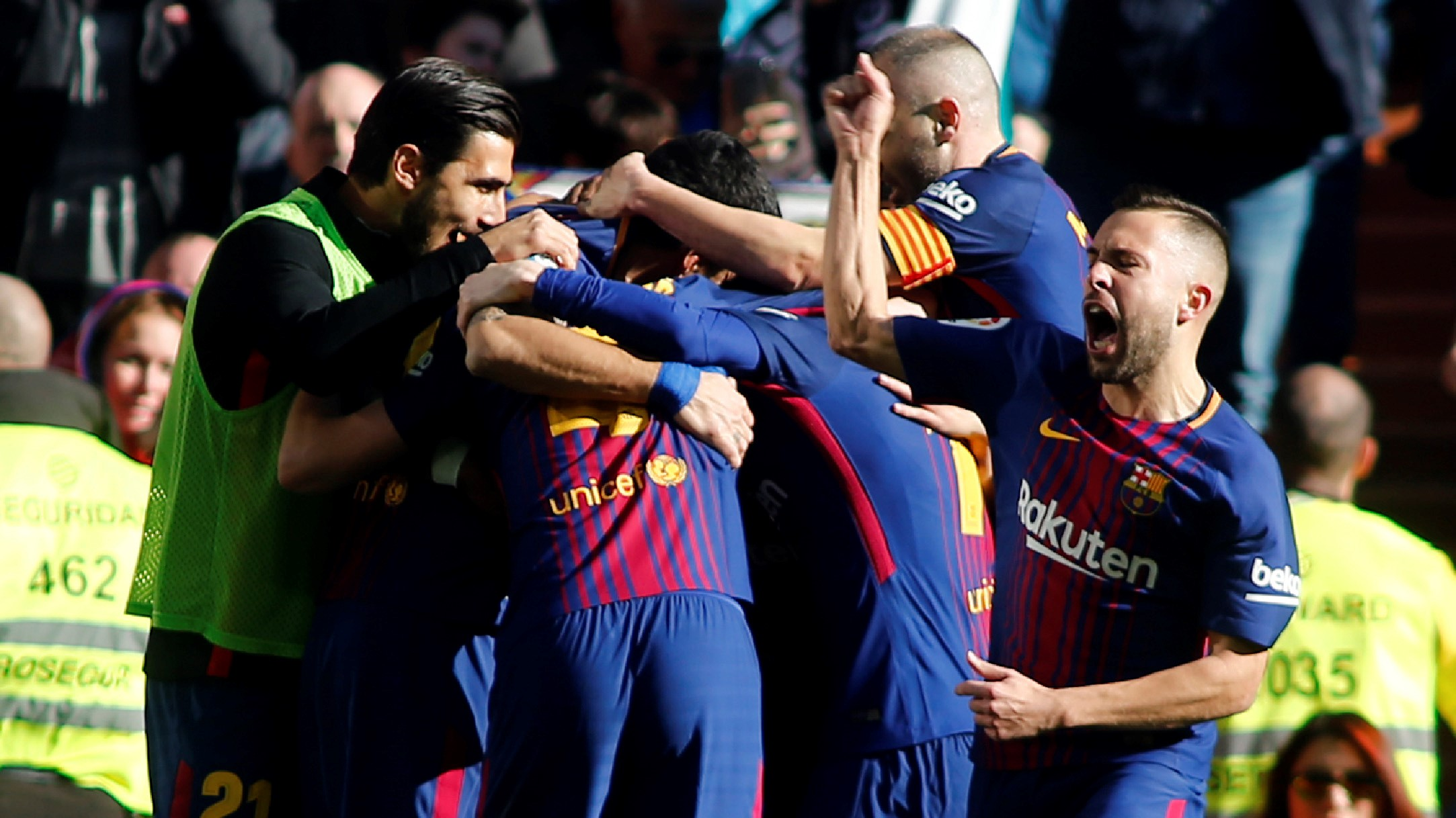 Jordi Alba Real Madrid Barcelona El Clásico LaLiga 23122017