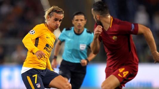 Antoine Griezmann Roma Atletico de Madrid Champions League 12092017