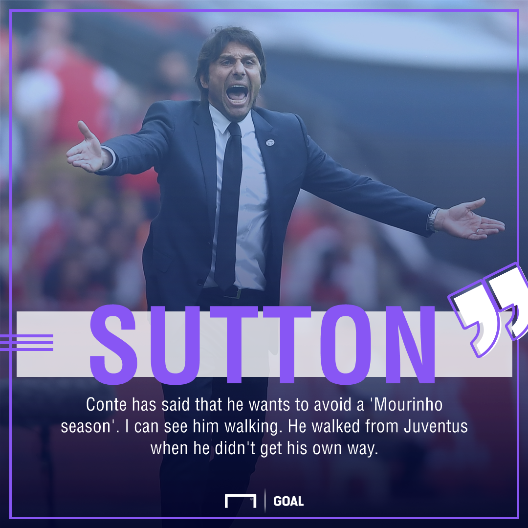 Chris Sutton Antonio Conte Chelsea