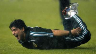 Diego Maradona Argentina Peru 2009