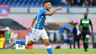 Adam Ounas Napoli Sassuolo Serie A