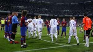 Barcelona Real Madrid 2008 pasillo