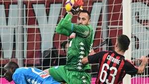 David Ospina Napoli - Milan Serie A 26012019