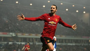 Zlatan Ibrahimovic Manchester United FA Cup