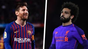Lionel Messi Mohamed Salah