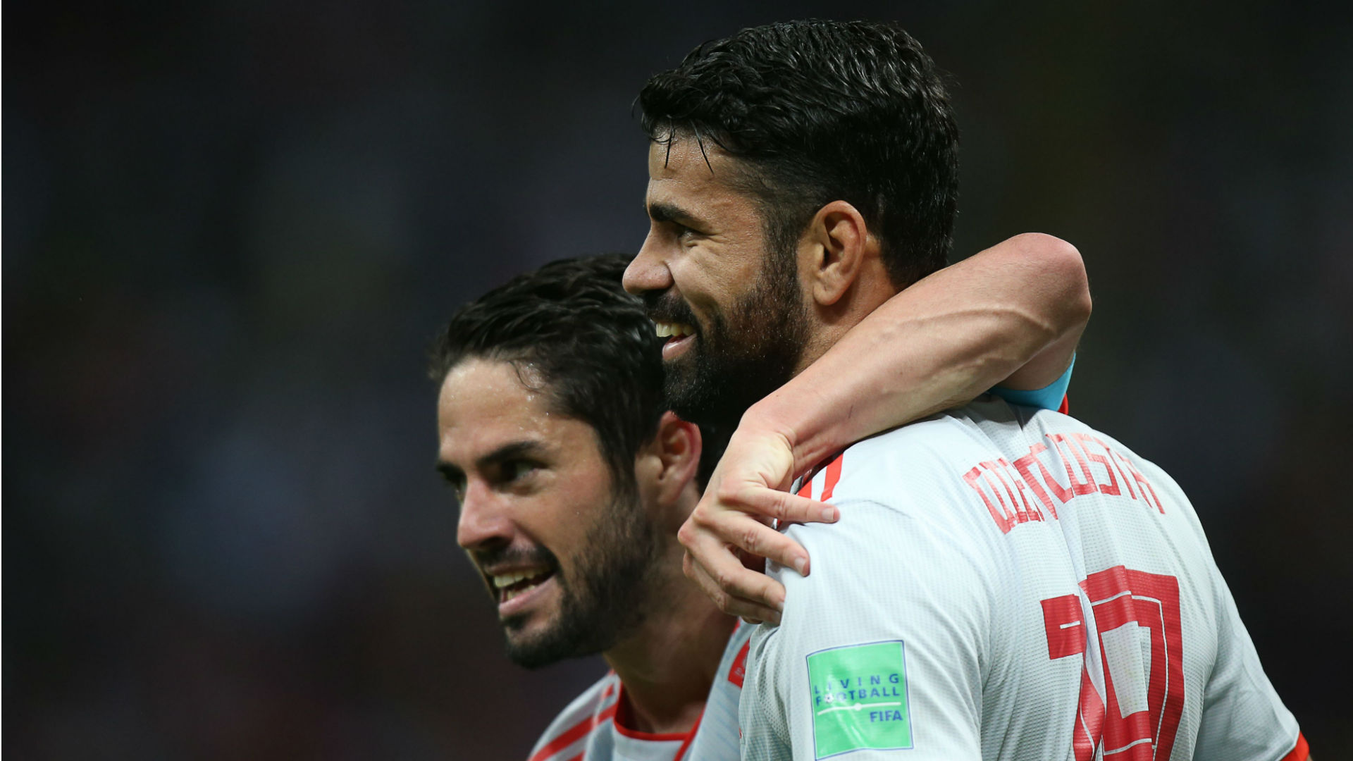 Spain beat Iran 1-0 on Costa's third goal