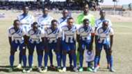 AFC Leopards squad v Fosa Juniors.