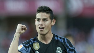 James Rodriguez Real Madrid La Liga