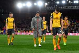 Arsenal lost Palace