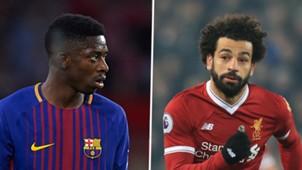 Ousmane Dembele, Mohamed Salah