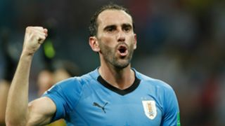 Diego Godin Uruguay 2018